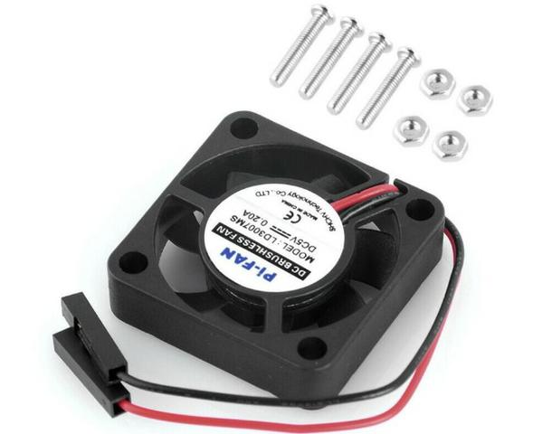 COD-CP345 Refrigeração Dc 30x30x7mmCpu Cooler Para Raspberry Pi 3 B + Pi 3 Pi 2