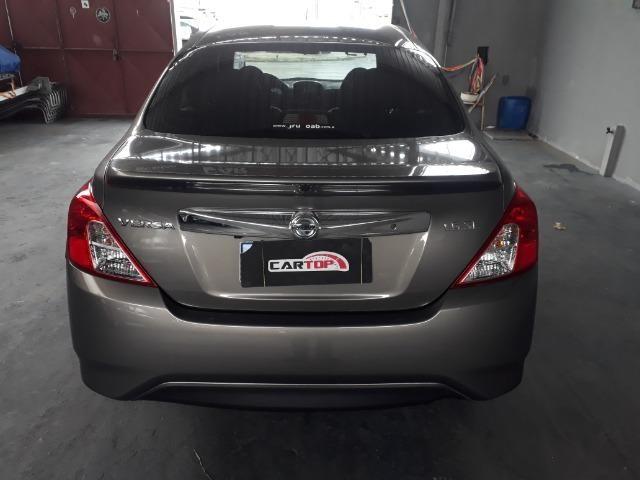 Nissan versa SL 1.6 CVT FLEX C/ 9000 MIL KM - Foto 4