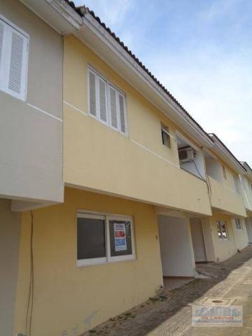 Casa com 3 dormitórios para alugar, 116 m² por r$ 1.180,00/mês - nonoai - porto alegre/rs