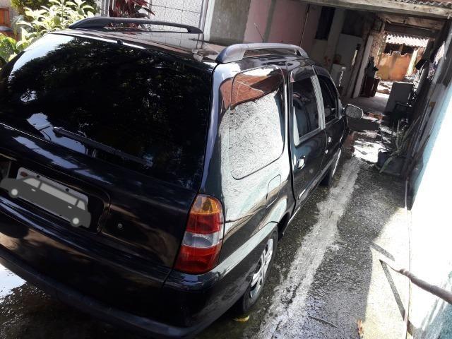 Fiat Palio weekend 2001 (gnv e gasolina) em perfeito estado - Foto 7