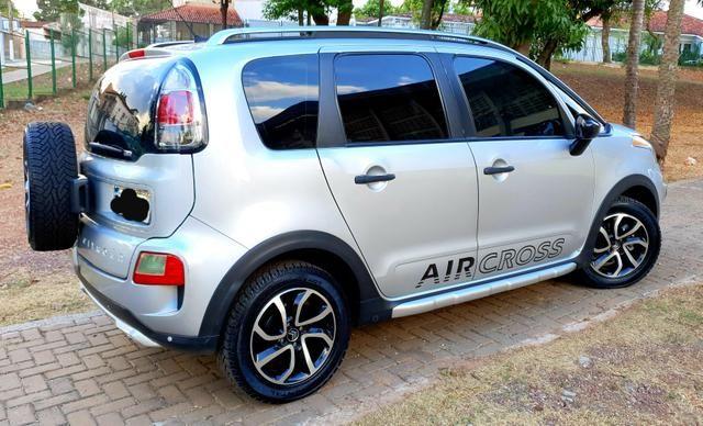 Aceita Troca Citroen Aircross Exclusive 1.6 Flex Automático Baixo Km - Foto 3