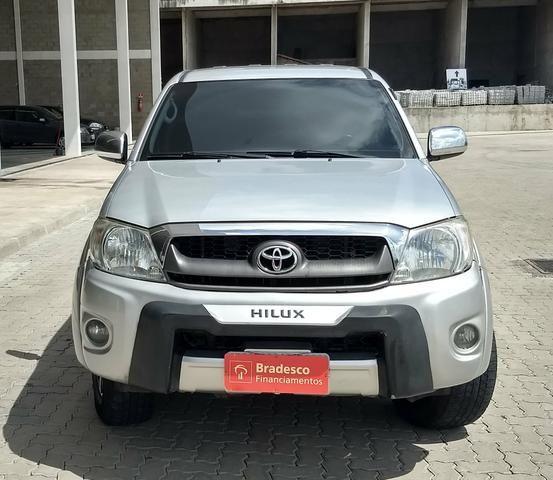 Toyota Hilux Sr Flex 2.7 Cd manual ano 2010 (Extra) - Foto 6