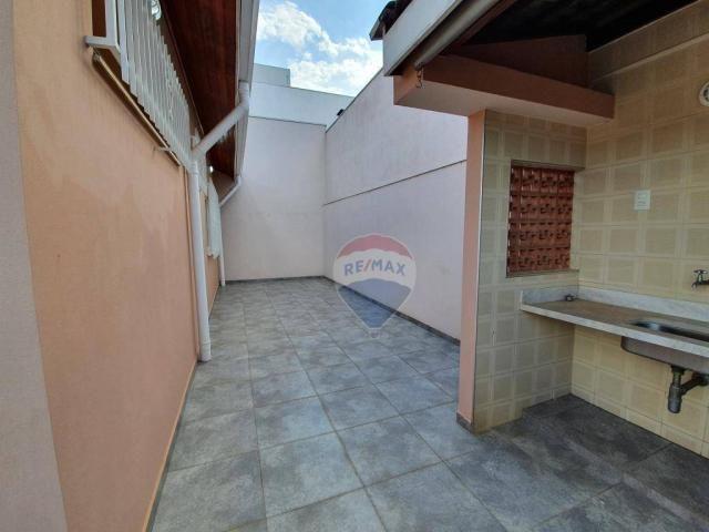 Casa com 3 dormitórios para alugar, 207 m² por R$ 3.601,00/mês - Vila São José - Várzea Pa - Foto 3