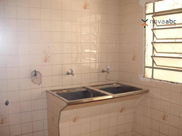 Sobrado com 4 dormitórios para alugar, 260 m² por R$ 4.500,00/mês - Vila Homero Thon - San - Foto 16