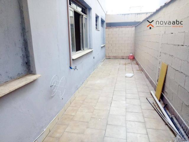Sobrado com 4 dormitórios para alugar, 260 m² por R$ 4.500,00/mês - Vila Homero Thon - San - Foto 17