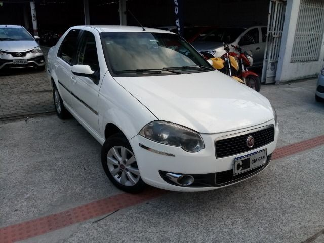 Siena 1.4 GNV De Fábrica Completo Rodas Pneus Novos! Troco Financio
