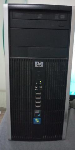 Computador Hp completo - (teclado, mouse e cabos novos) R$ 299,00 - Foto 2