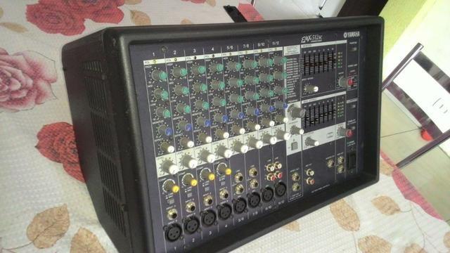 Mixer profissional yamaha emx 512 sc - Foto 3