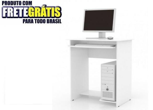 Mesa Computador Pratica S/ Gaveta Ej Moveis
