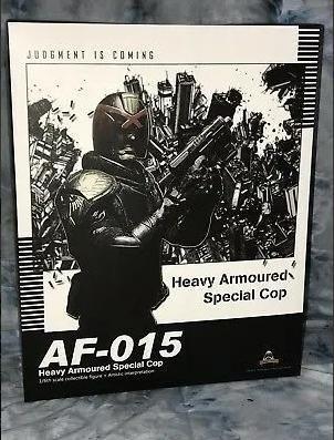 Boneco Judge Dredd Heavy Armored Special Cop - Artfigures - Foto 2