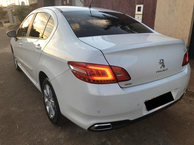 408 THP 1.6 turbo, branco 17/17 ótimo carro - Foto 2