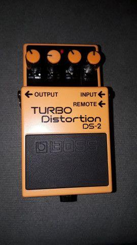 Promoção* Pedal para guitarra - Turbo Distortion DS-2 - Foto 2