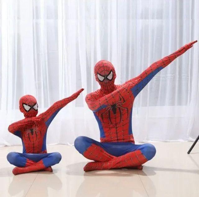 Fantasia Infantil Homem Aranha - Foto 5