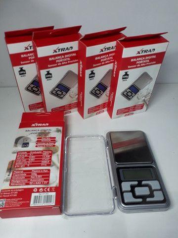 Mini Balança Digital de Bolso 0,1g até 500g Xtrad - Foto 5