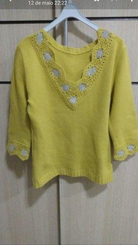 Blusinha de lãzinha Tam M<br>