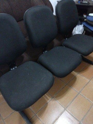 Conjunto cadeiras de 3