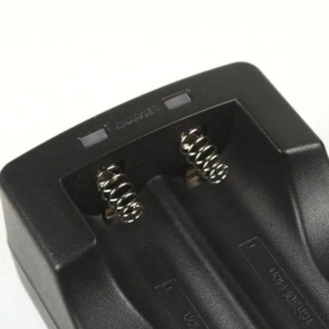 Carregador Mais 2 Baterias 26650mah Carregador Mais 2 Baterias 26650mah - Foto 2
