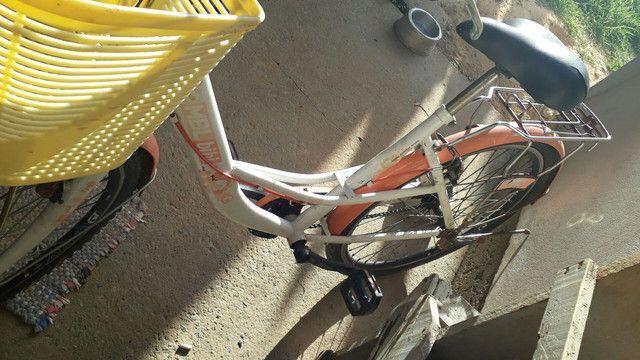 Bicicleta semi nova - Foto 2