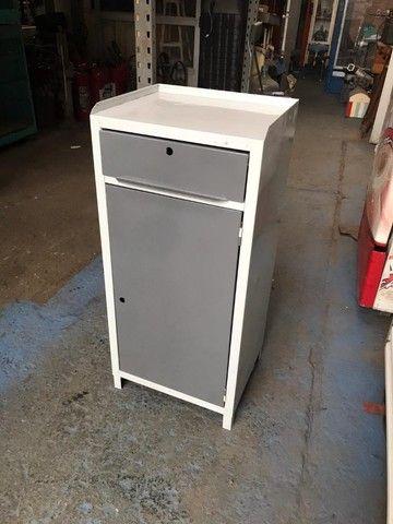 bancada ferramenteira com gaveta e armário em baixo   - Foto 5