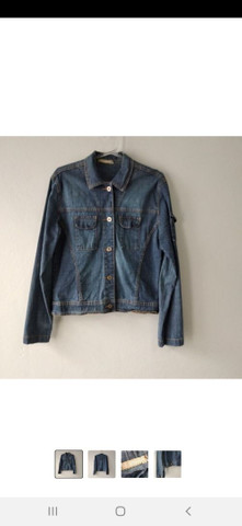 Jaqueta Jeans ST JOHNS BAY Tam. M