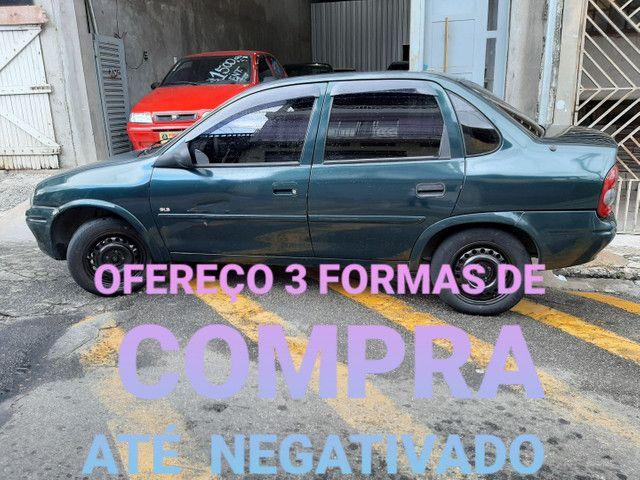 Corsa Sedam G L S 1.6 Entrada R$ 1.500 * Planos Para Negativados - Foto 4