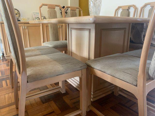 Mesa de Jantar 8 lugares+ Buffet 4 portas - Foto 3