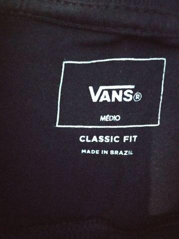 Camiseta Vans Original tamanho M - Foto 3