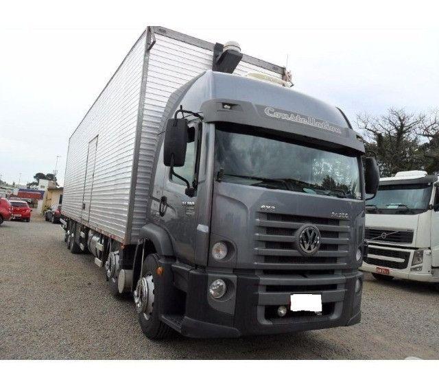 Caminhão Vw Costellation Bitruck 24-280 13/13 - Baú Seco