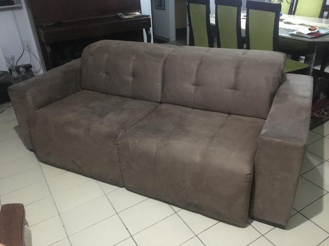 Sof cama retr til m veis gra as recife olx for Olx sofa cama