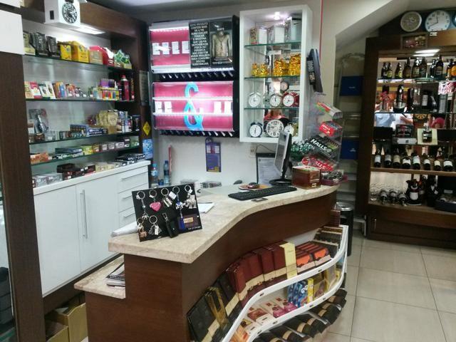 Loja de presentes e tabacos em Shopping de Florianópolis