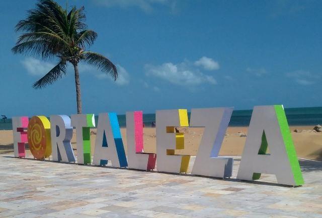 Apartamento, mobiliado em Fortaleza na praia de Iracema - Foto 16