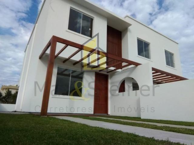 J@/48 98827-7302/Casa segura de 2 dormitórios pronta p/ morar/Ingleses-SC!
