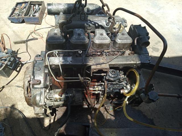 Bloco Limpo do Motor 04 Cil Mwm Série X10 F1000 F4000 - Foto 6