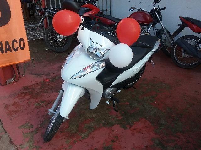 Honda Biz Moto Honda OKm Nova sem entrada com facilidade de aprovação rápida e barata - Foto 2