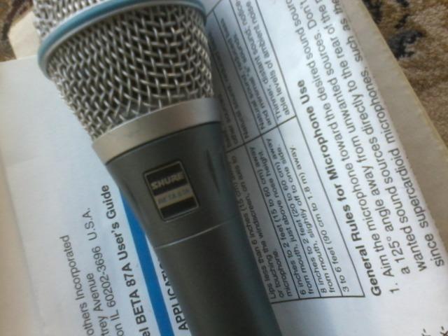 Microfone shure - Foto 2