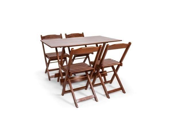 Mesas e Cadeiras Dobráveis - Paifes - Foto 6