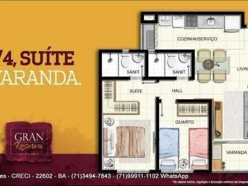 Apartamento de 2 quartos no Gran Reserva Imbuí! Lançamento - Foto 6
