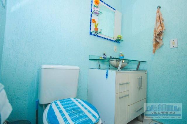 Villarinho vende casa com 3 dormitórios, 1 suíte,124 m² aréa const- terreno 300m² -600.000 - Foto 17
