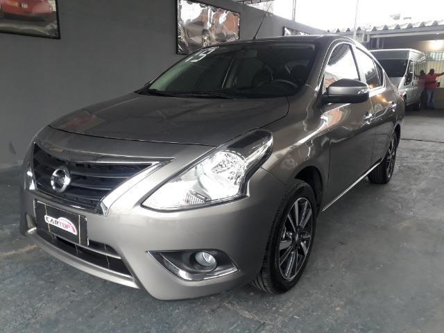 Nissan versa SL 1.6 CVT FLEX C/ 9000 MIL KM - Foto 3