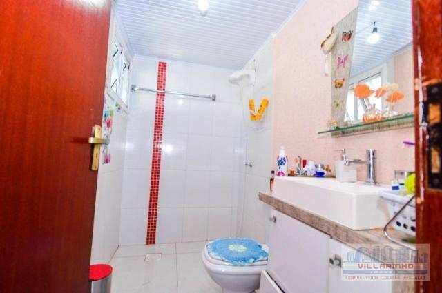 Villarinho vende casa com 3 dormitórios, 1 suíte,124 m² aréa const- terreno 300m² -600.000 - Foto 15