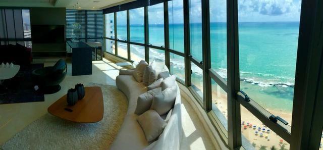 Vendo Cobertura TOP na avenida Boa Viagem com 4 suites - Foto 12