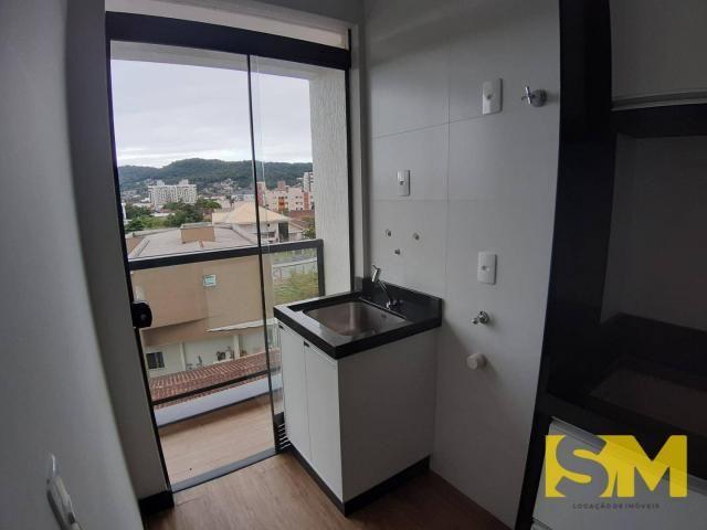 Apartamento com 2 dormitórios para alugar, 72 m² por R$ 1.700/mês - Bom Retiro - Joinville - Foto 8