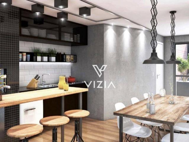 Studio com 1 dormitório à venda, 29 m² por R$ 265.000,00 - Alto da Rua XV - Curitiba/PR - Foto 5