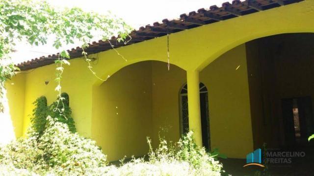 Casa com 4 dormitórios para alugar, 550 m² por R$ 2.809,00/mês - Joaquim Távora - Fortalez