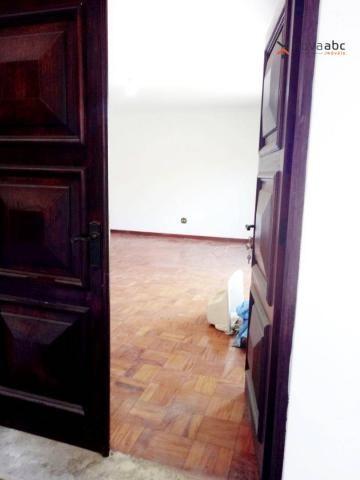 Sobrado com 4 dormitórios para alugar, 260 m² por R$ 4.500,00/mês - Vila Homero Thon - San - Foto 4