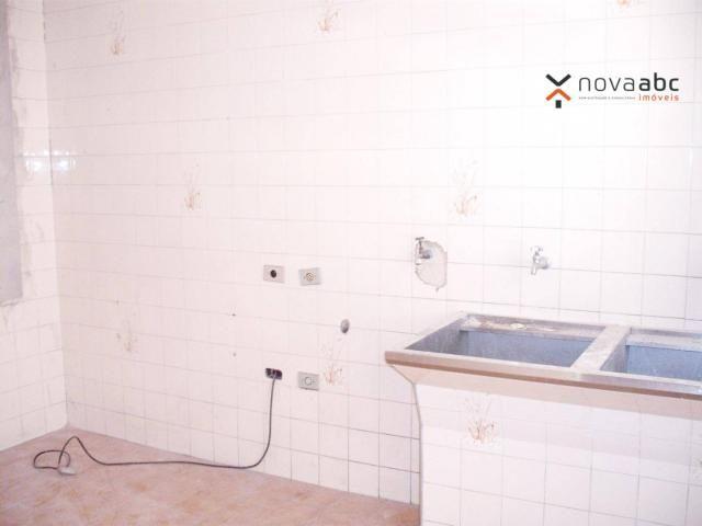 Sobrado com 4 dormitórios para alugar, 260 m² por R$ 4.500,00/mês - Vila Homero Thon - San - Foto 15