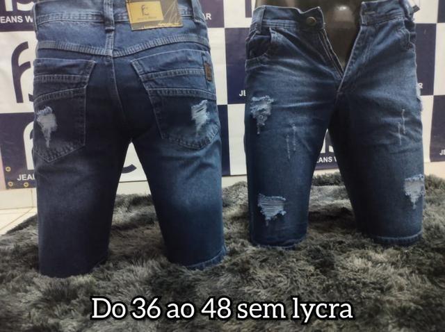 Bermudas Jeans Tradicional Apenas 40,00