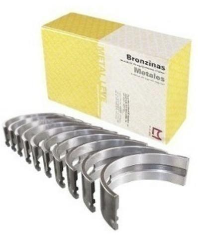 Kit Bronze Bronzina De Biela E Mancal 025 Clio 1.0 8v 2003 A 2006