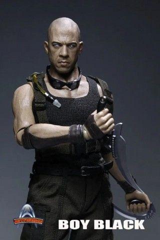 Boneco Riddick - Boy Black - Artfigures - Foto 2