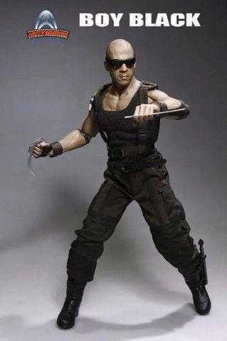 Boneco Riddick - Boy Black - Artfigures - Foto 3